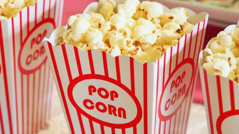 Bakje popcorn